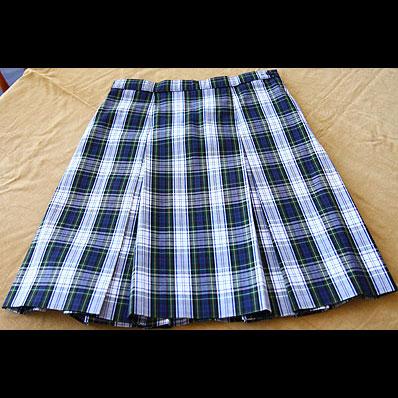 Plaid Skirt Stitchworks